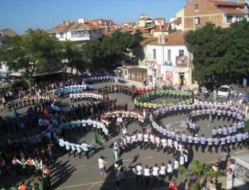 """Трето издание на фестивала """"Хоро край поморийския бряг"""" 2012г."""